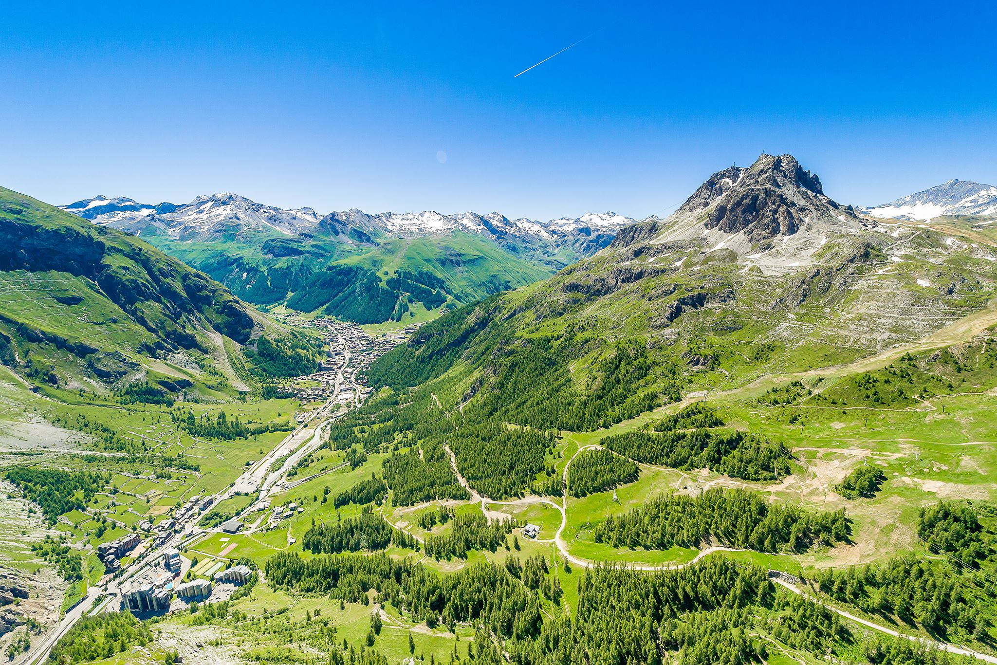 Val d'Isere is a favorite local getaway destination in France.
