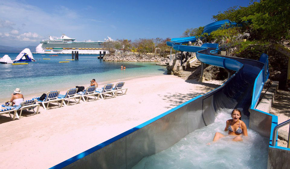 Royal Caribbean cruise stops in Labadee