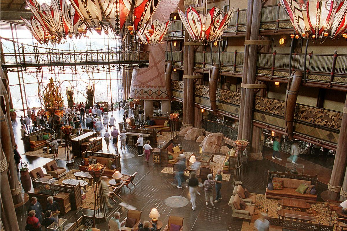 Lobby at Disney's Animal Kingdom Lodge