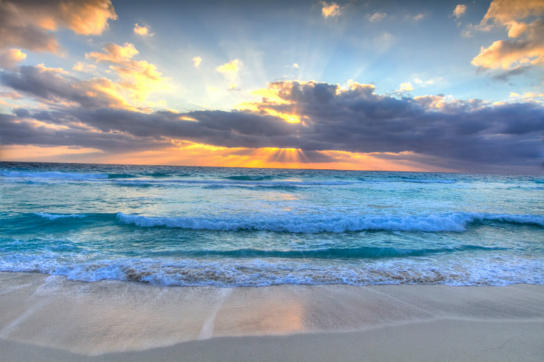 Cancun has some of the most beautiful beaches in the world!