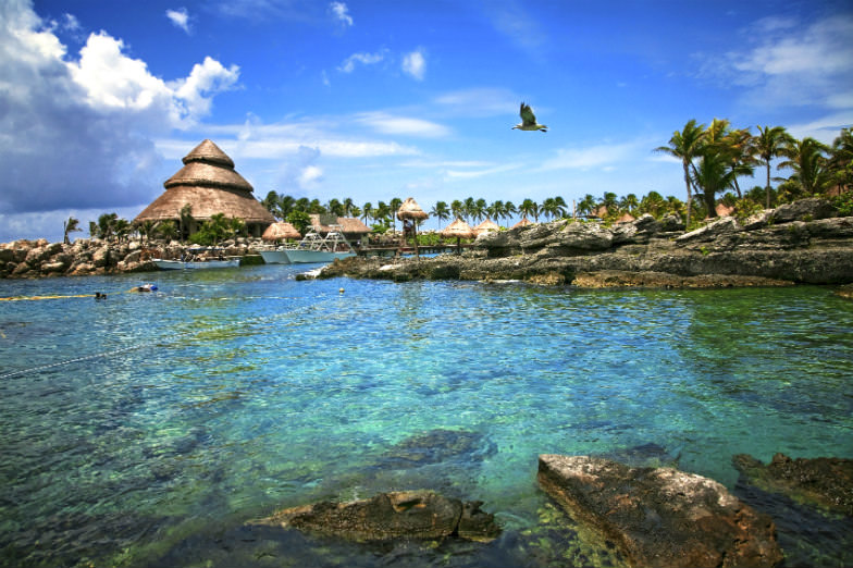 Xcaret is just one of the many amazing eco parks in and near Cancun.