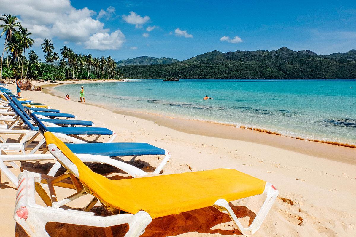 Playa Rincon is one of Samana's best beaches.