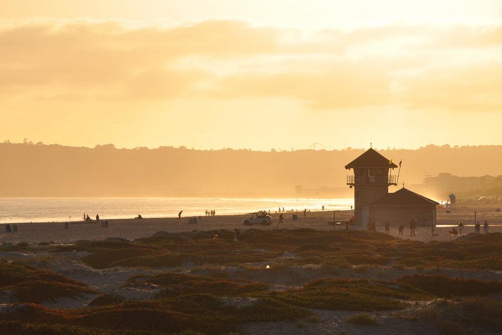 Sunset at Coronado Beach