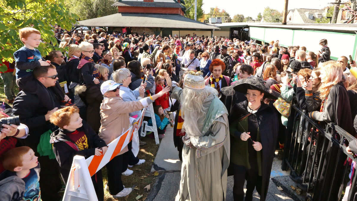 Meet your favorite Harry Potter characters at the Harry Potter Festival.