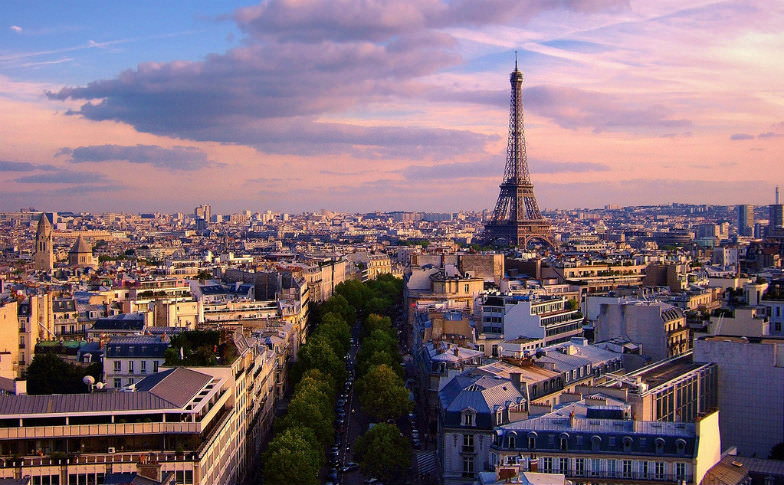 Paris and its stunning skyline