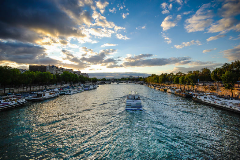 A boat ride on the Seine offers perfect views of Paris' attractions.
