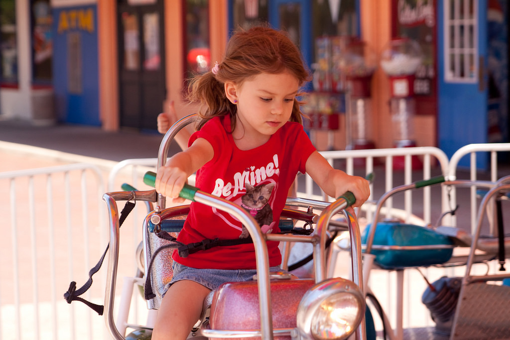 Child in Old Town Kissimmee