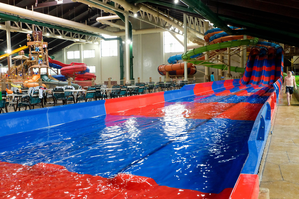 Great Wolf Lodge SoCal's indoor waterpark.