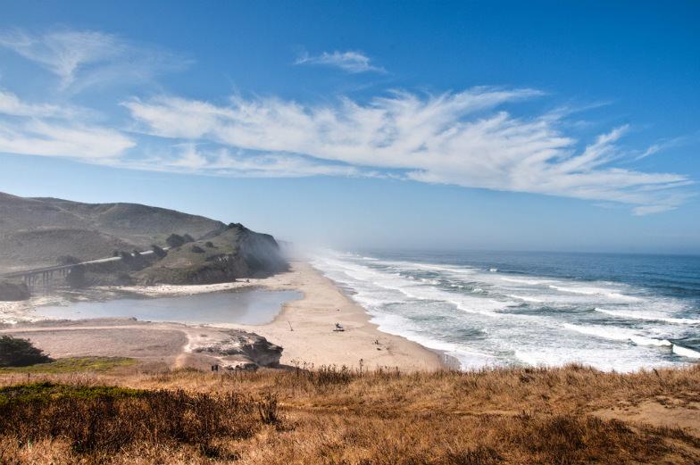 The Pacific Coast ouside San Francisco