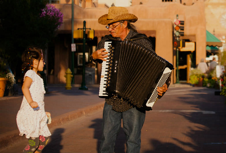 Consider Santa Fe as a great alternative spring break destination to visit with kids this year.