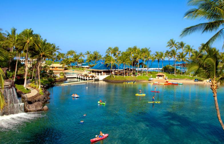 Lagoon at Hilton Waikoloa Village