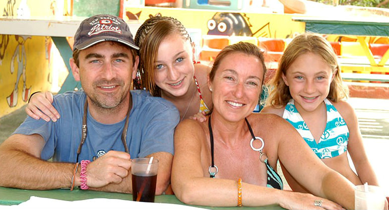 Family at Franklyn D. Resort in Jamaica