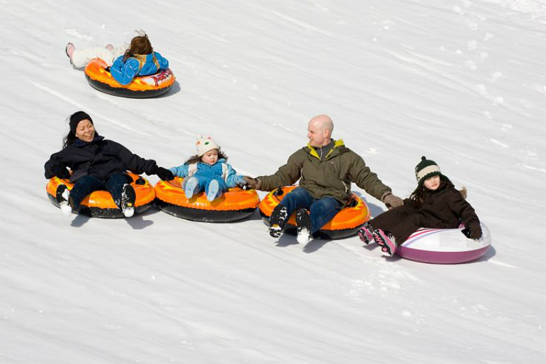 Tubing at Mohonk Mountain House