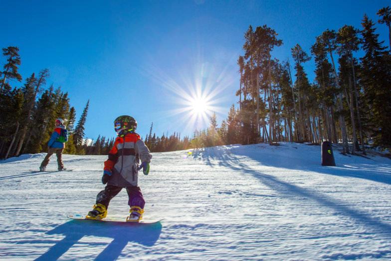Snowboarding at Keystone Resort