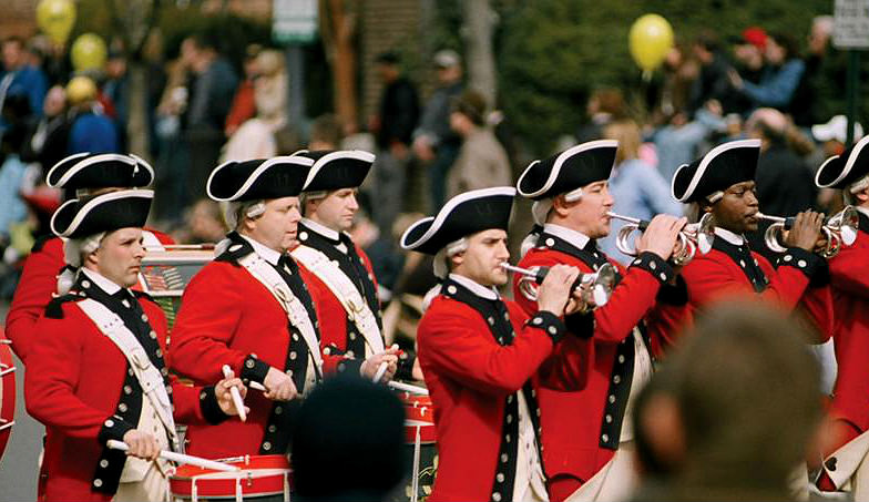 Birthday Parade in Alexandria, Virginia