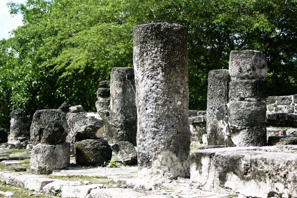 San Gervasio Mayan Ruins