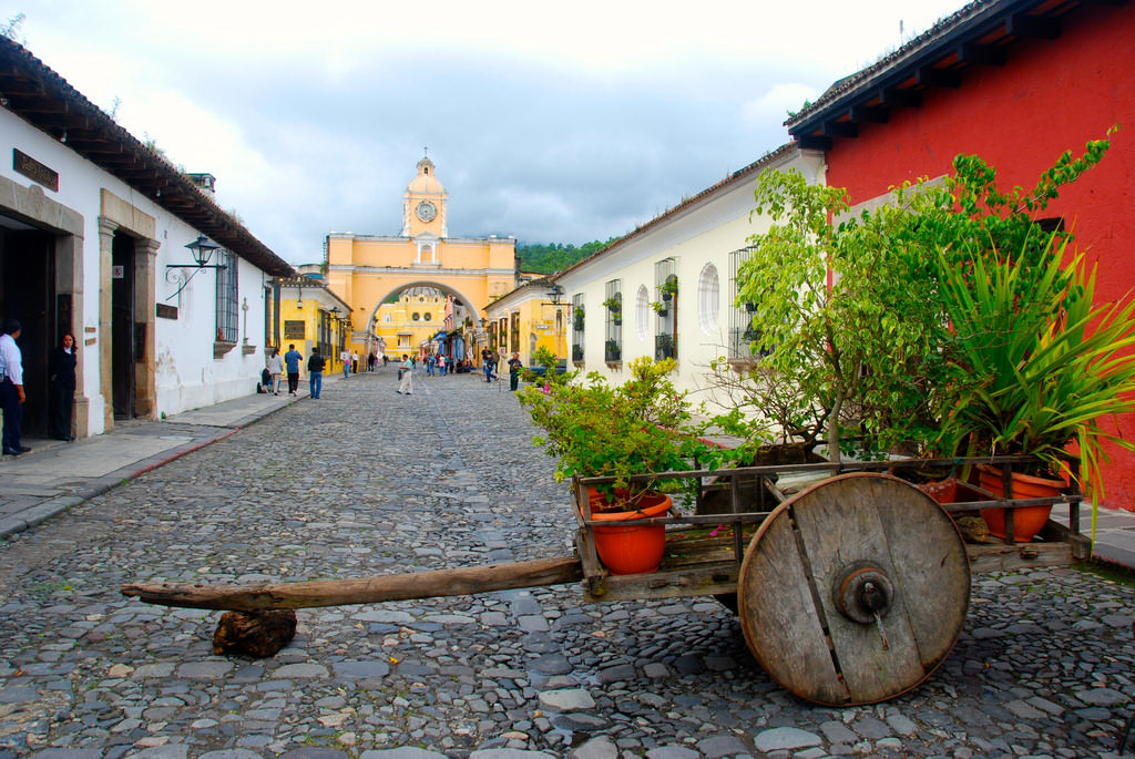 Antigua, Guatemala is one of the most beautiful places in Central America.