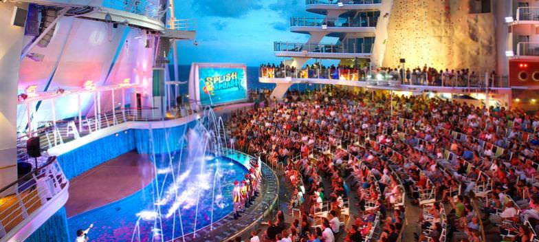Royal Caribbean's AquaTheater