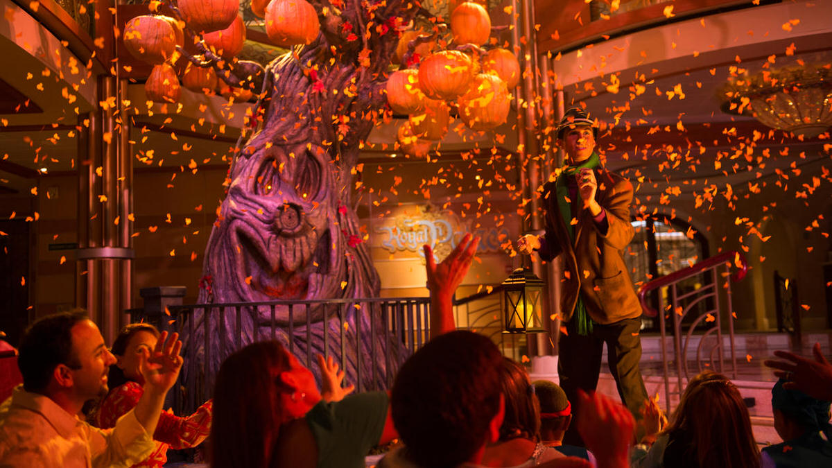 Halloween on the High Seas aboard the Disney Cruise ships