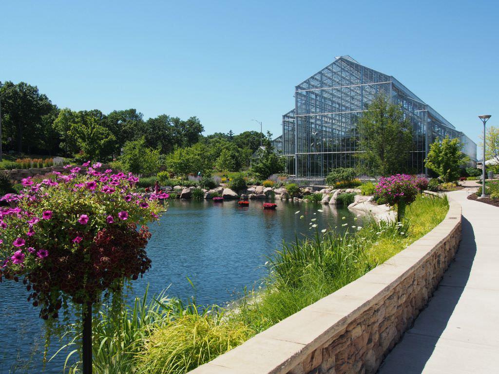 Nicholas Conservatory & Gardens in Rockford, IL