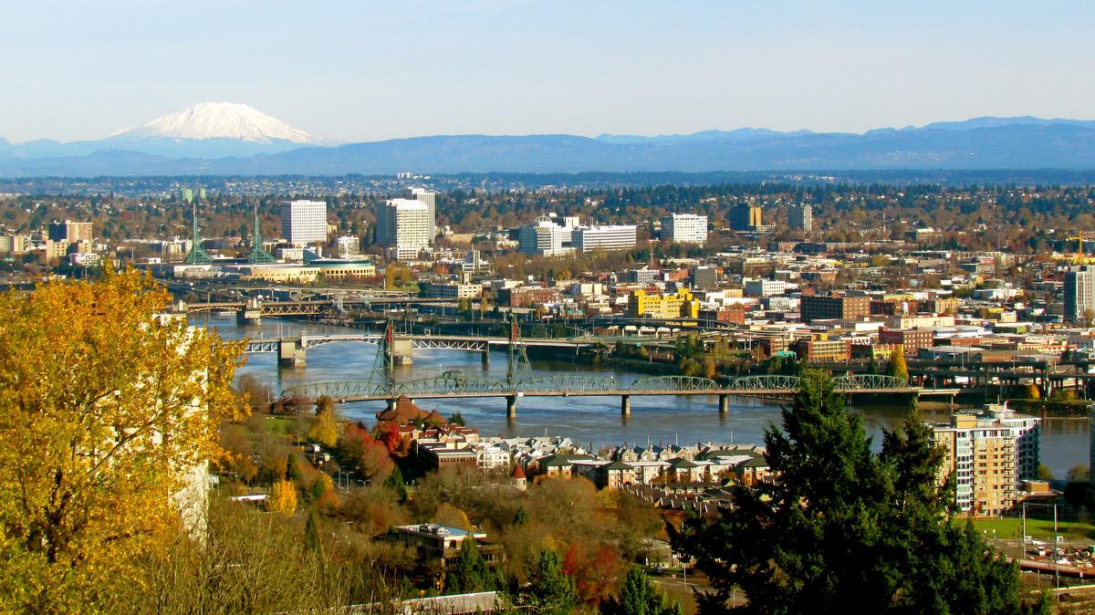 Autumn in Portland, OR