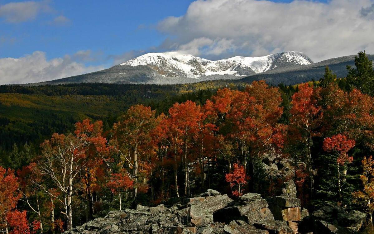 Santa Fe in the fall