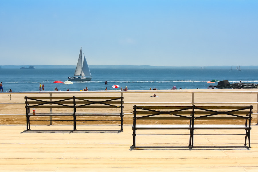 Coney Island is one of the best kid-friendly beaches in New York City for families.