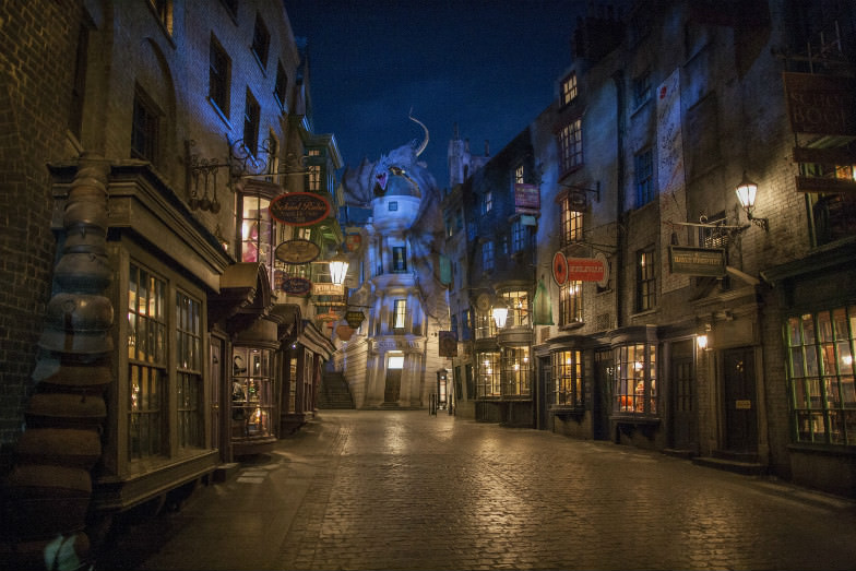The Wizarding World of Harry Potter Diagon Alley at Universal Orlando