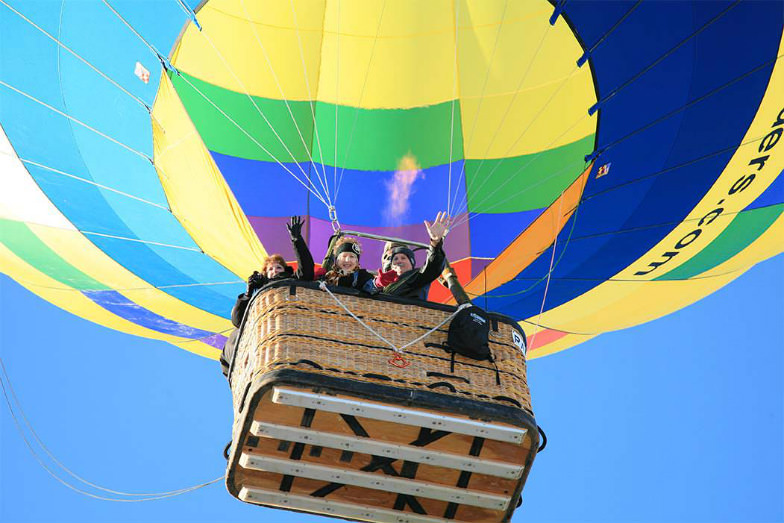 Experience Albuquerque from up above