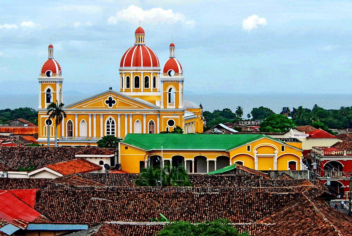 Granada skyline in Nicaragua