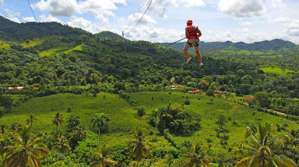 Canopy Adventure Zipline is a family-friendly attraction in Punta Cana for big kids.