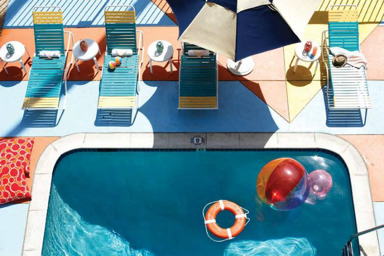 Pool at Hotel Del Sol