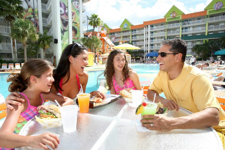 Family at the Nickelodeon Resort