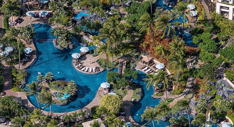 Pool at Grand Hyatt Kauai