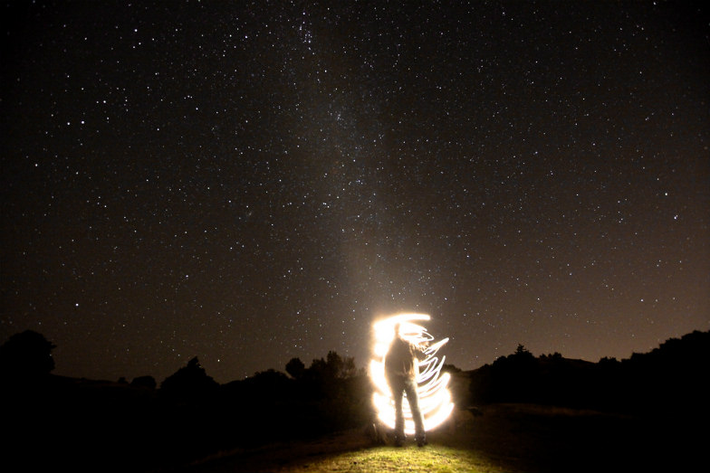Stargazing spot in Mt. Tamalpais near San Francisco