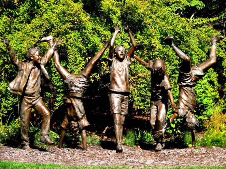 Childhood's Gate Children's Garden in State College, Pennsylvania