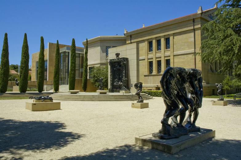 Rodin Sculpture Garden in Palo Alto, California