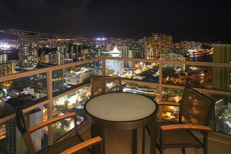 View from the Trump International Hotel Waikiki /