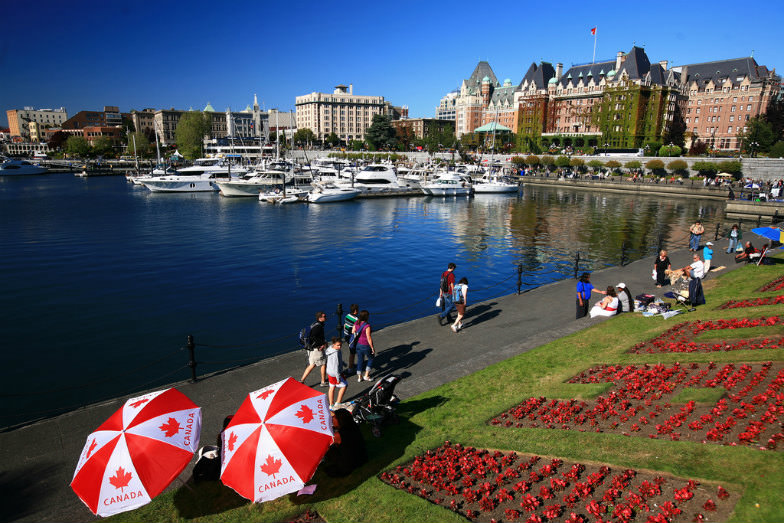 British feel of Victoria, BC