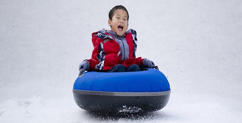 snow tubing with kids: Snow Mountain