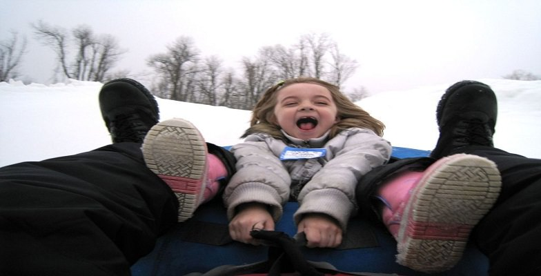 snow tubing with kids: Mad River Mountain