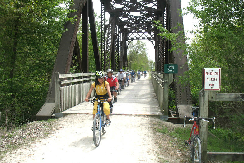 Katy Trail in St. Charles, MO