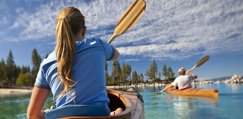 Kayaking at Resort at Squaw Creek