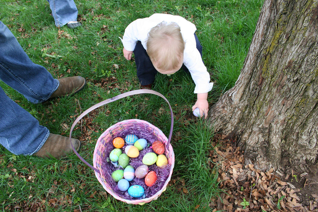 Egg hunting with the kids is one of Easter's most celebrated traditions.