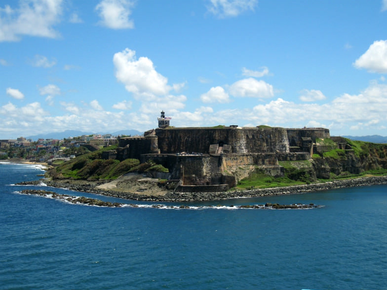18th-century Castillo de San Cristobal