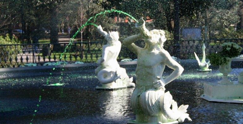 St. Patrick's Day: Savannah