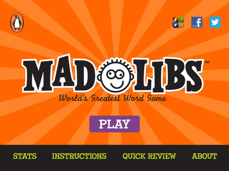 Mad Libs is a perfect app for family road trips.