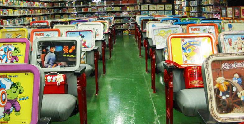 wacky museums: Lunch Box Museum