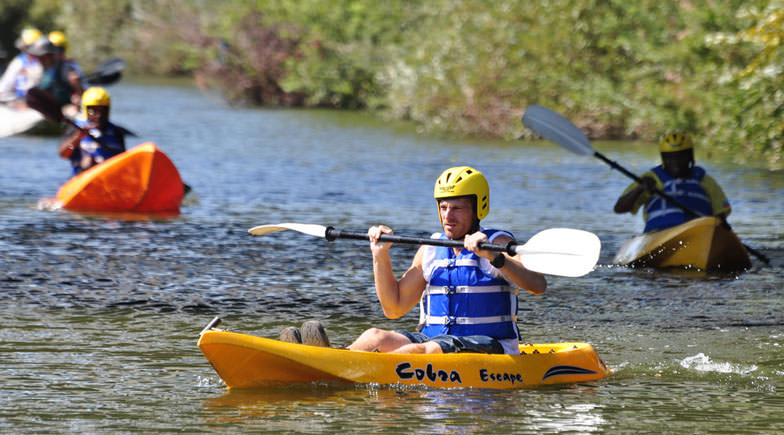 Kayaking in LA River