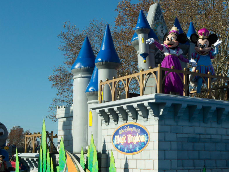 Disney Float during the Dunkin' Donuts Thanksgiving Day Parade